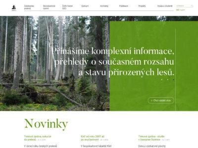 Pralesy ČR
