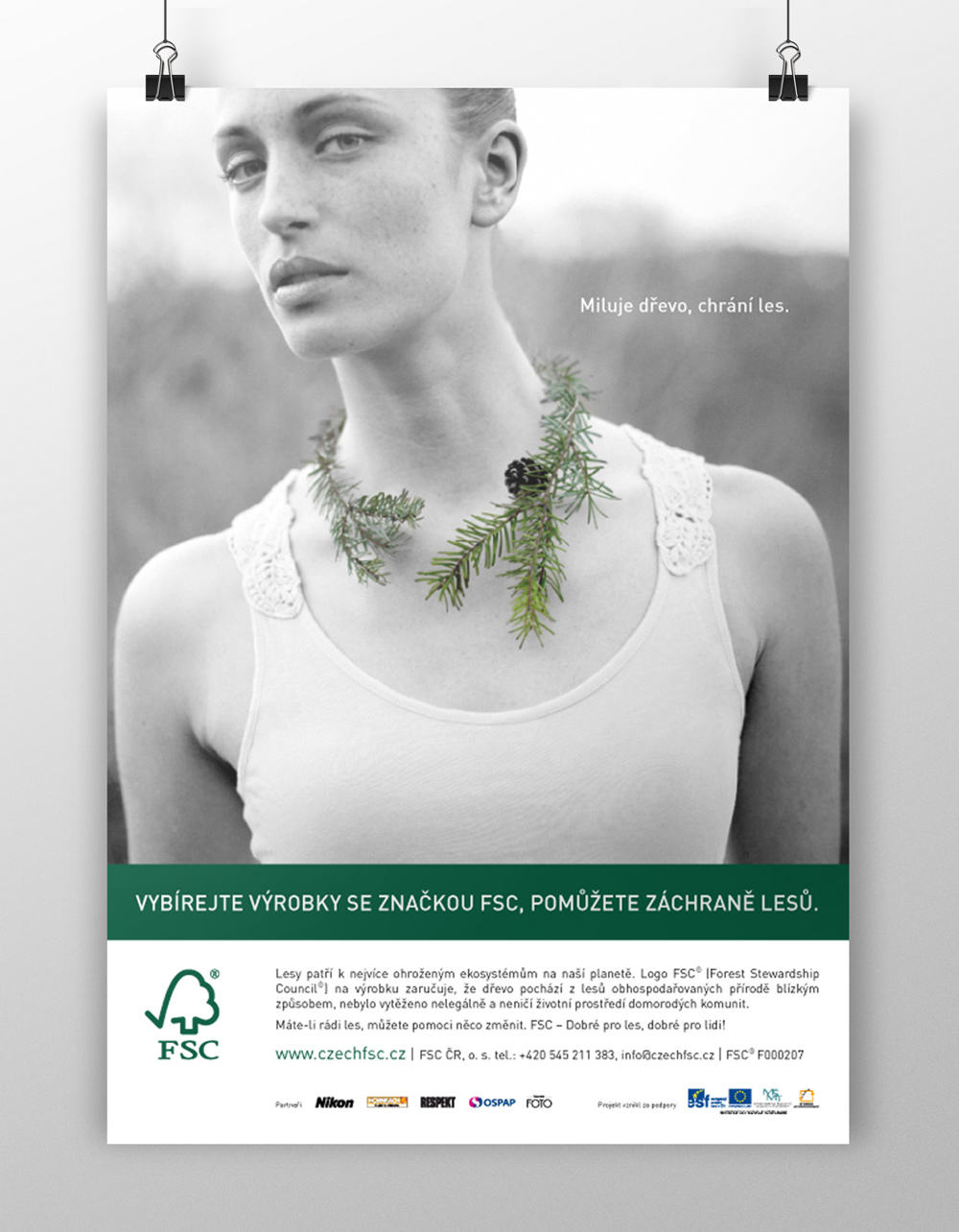 FSC poster - realizace, Logo&Print