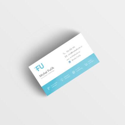 Realizace Logo&Tisk Fu design vizitky