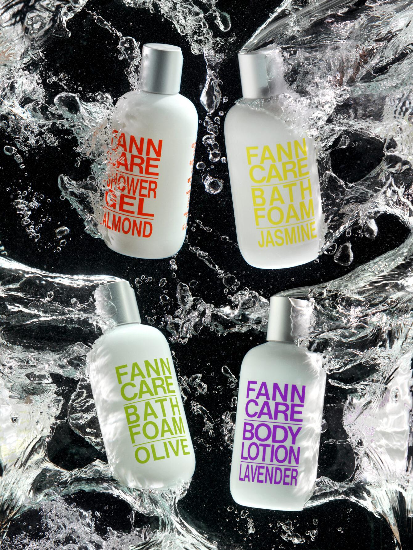 Parfumerie Fann - grafický design, fotografie