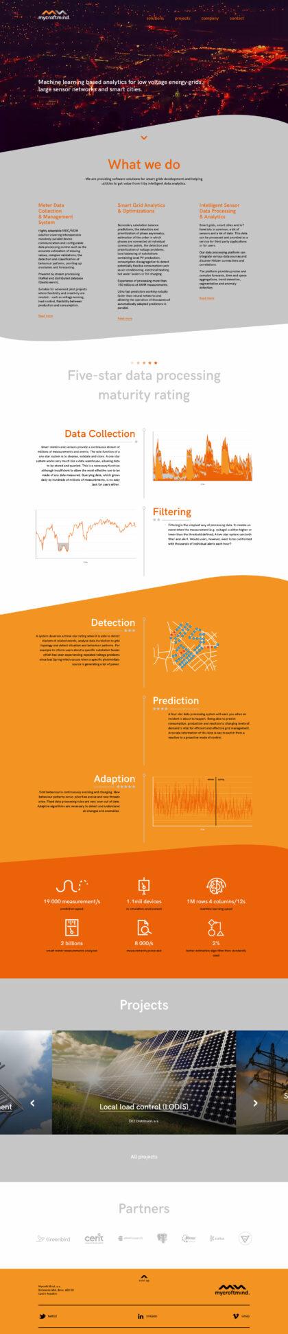 Realizace Webdesign Mycoft mind