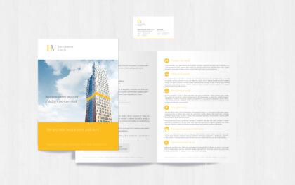 HV Investment identity - realizace, Logo&Print