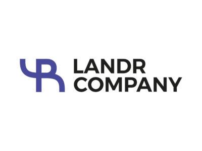 Landr company logo - realizace