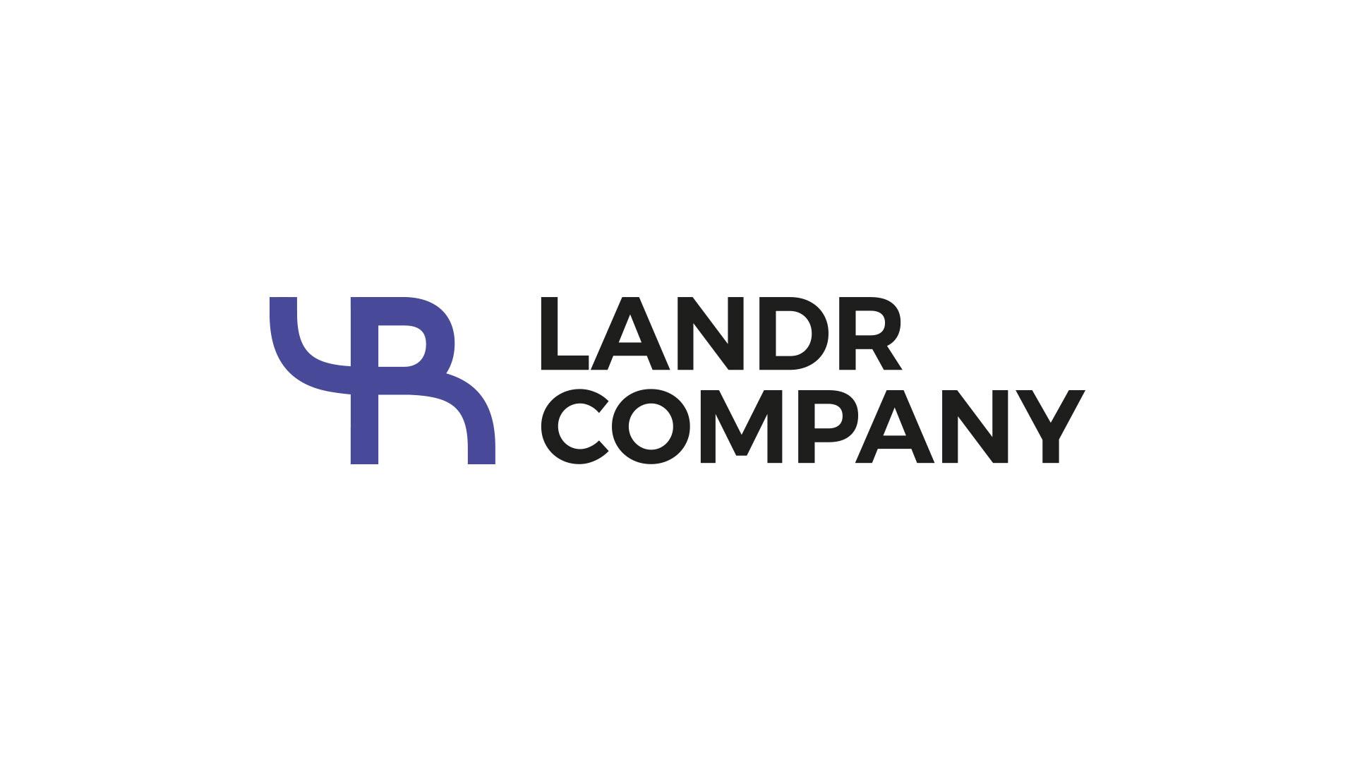 Landr company logo - realizace, Logo&Print
