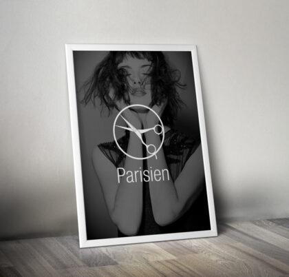 Parisien plakát - realizace, Logo&Print