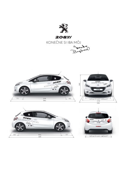 Realizace Logo&Tisk Monika Bagárová polep auta