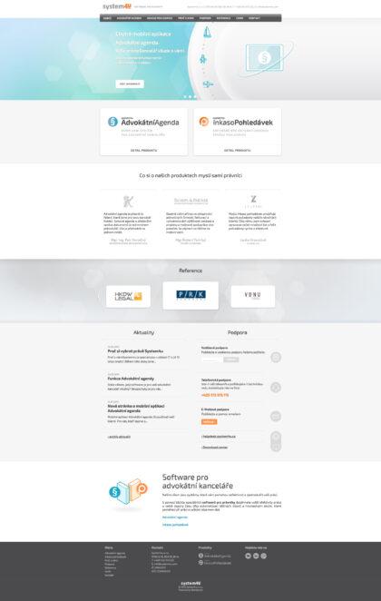 Realizace Webdesign Software pro právníky