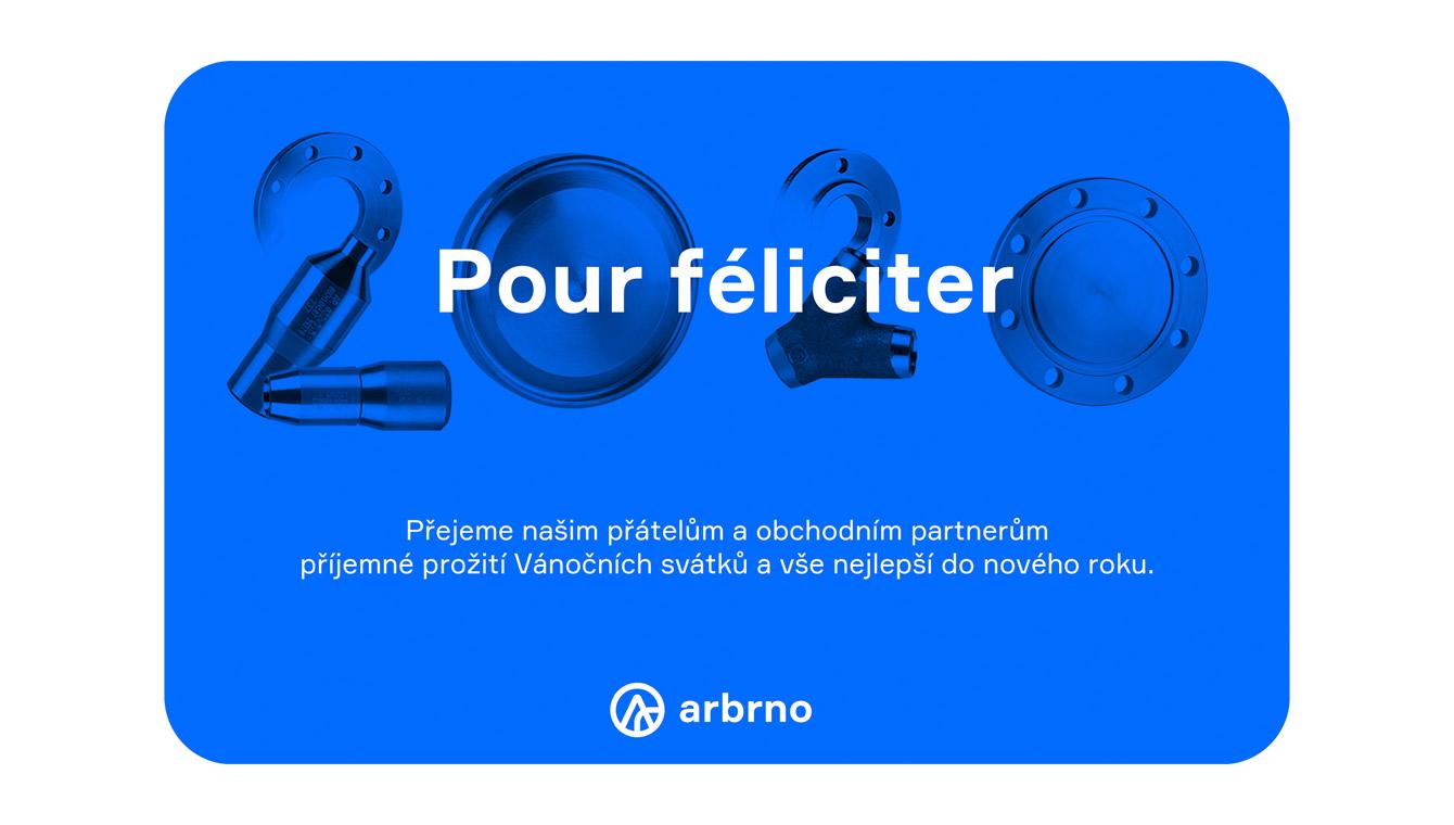 AR Brno - návrh PF 2020, webdesign