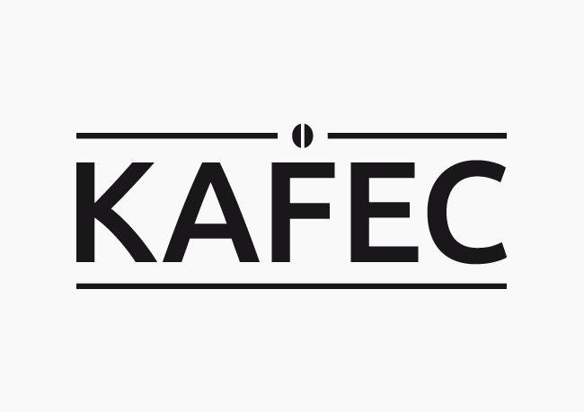 Kavárna KAFEC Brno - realizace, Logo&Tisk