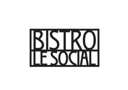 CAFÉ Bistro Le Social - realizace, Logo&Print