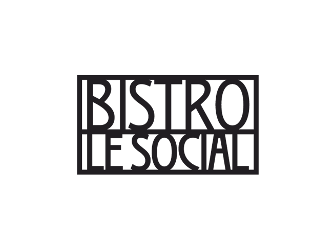 CAFÉ Bistro Le Social - realizace, Logo&Tisk