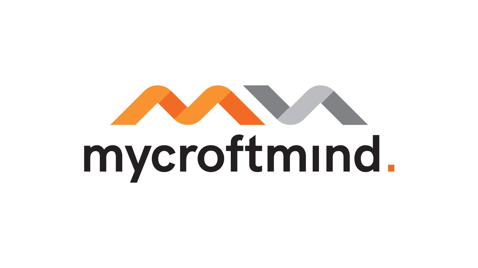 Mycroft mind logo - realizace, Logo&Tisk