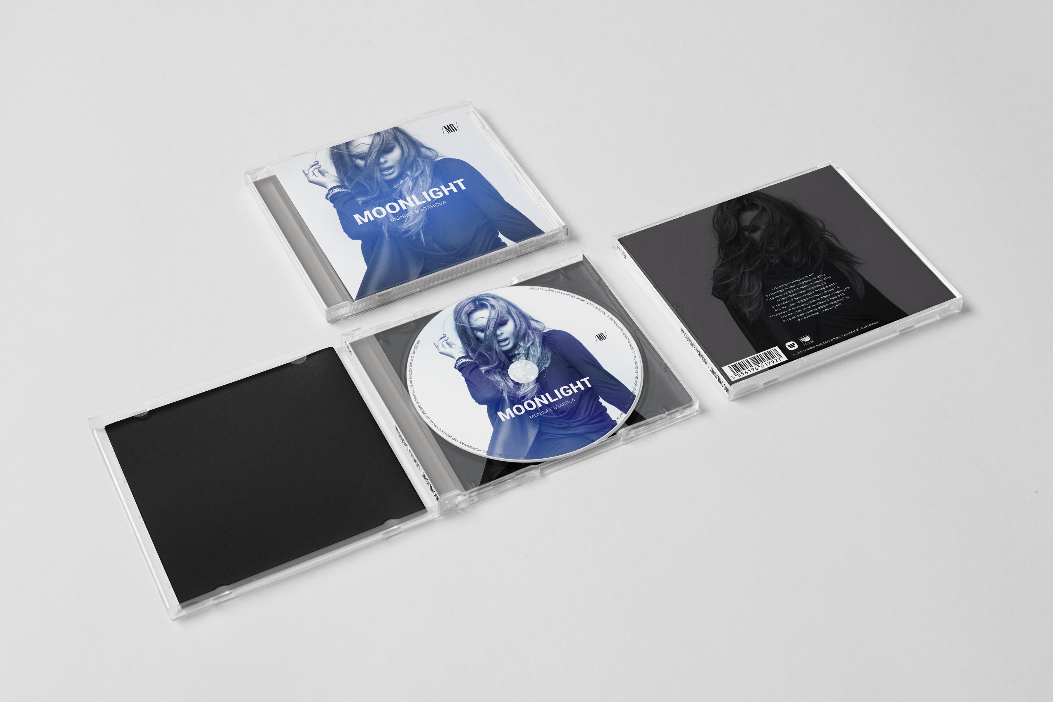 Monika Bagárová CD - realizace, Logo&Tisk