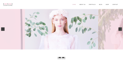 Elysian Sisters - realizace, Web design