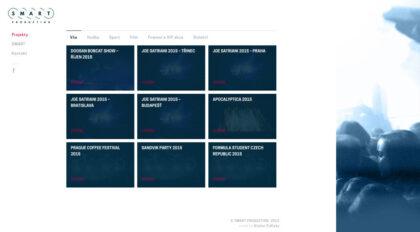 Smart Production - realizace, Web design