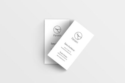Parisien vizitka - realizace, Logo&Print