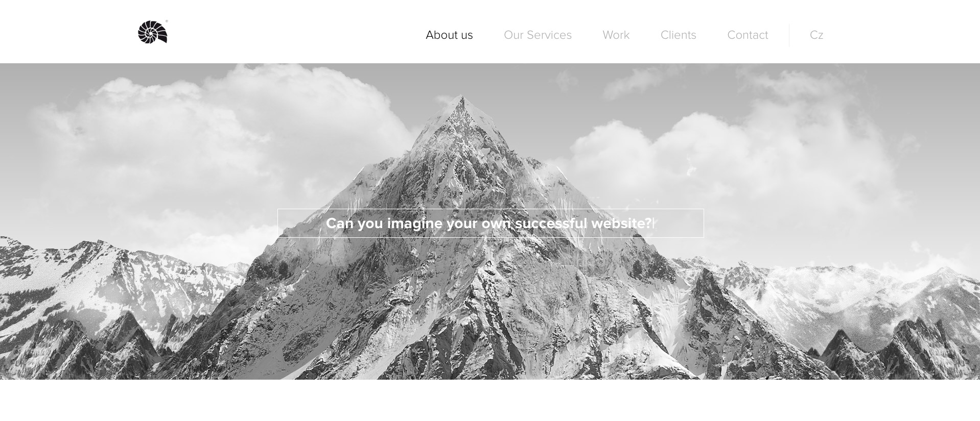 Homepage - Client of Web design Studio GRAFIQUE Brno