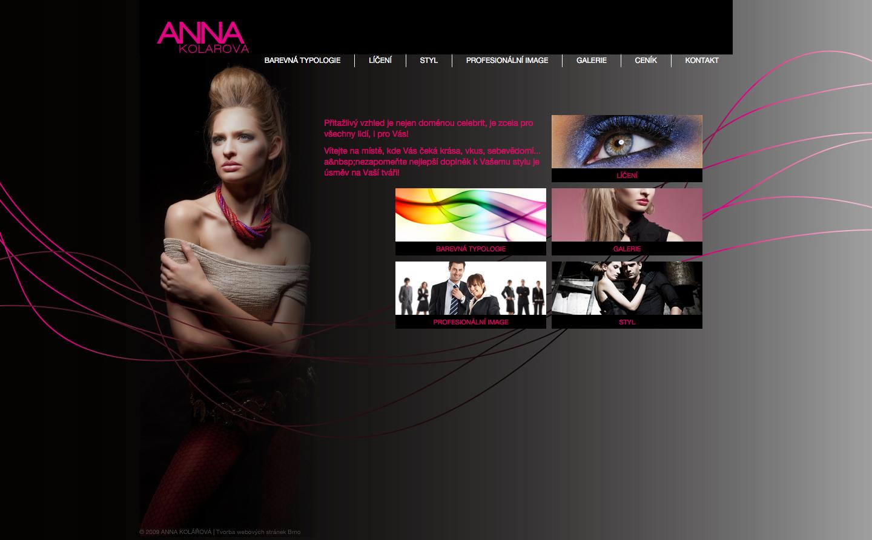 Realizace Webdesign ANNA KOLÁŘOVÁ
